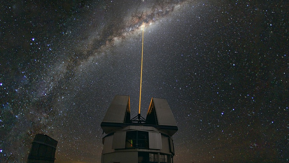 Head south to see the centre of the Milky Way. Credit: ESO/Y. Beletsky