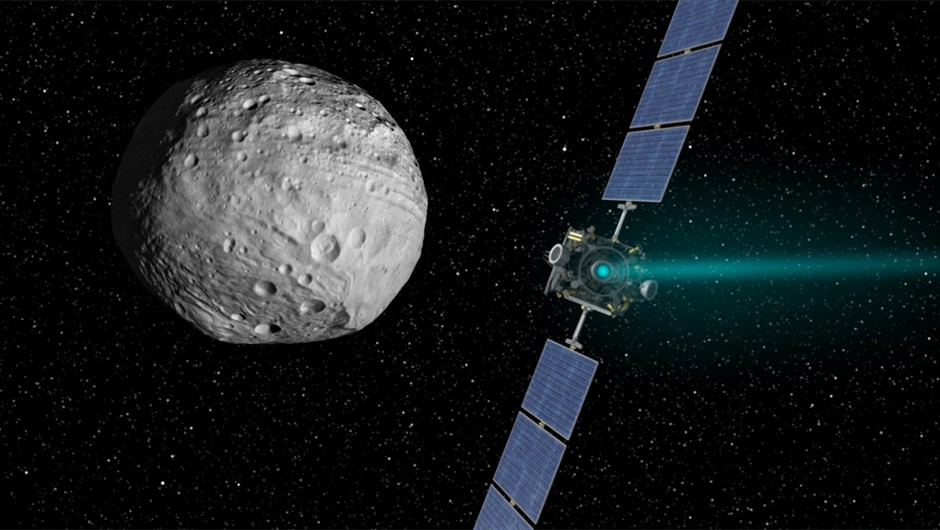 Artist's impression: NASA/JPL-Caltech