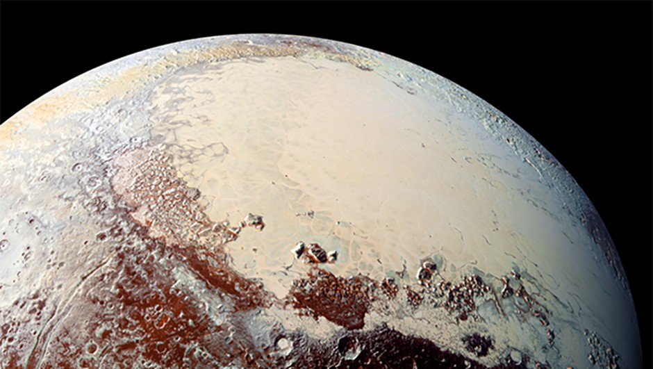 The New Horizons probe has given us incredible and unprecedented views of Pluto Credit: NASA/JHUAPL/SwRI