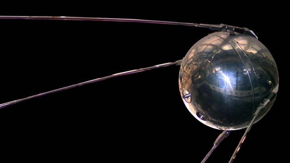 Sputnik 1 - the satellite that launched the Space Age Credit: NASA