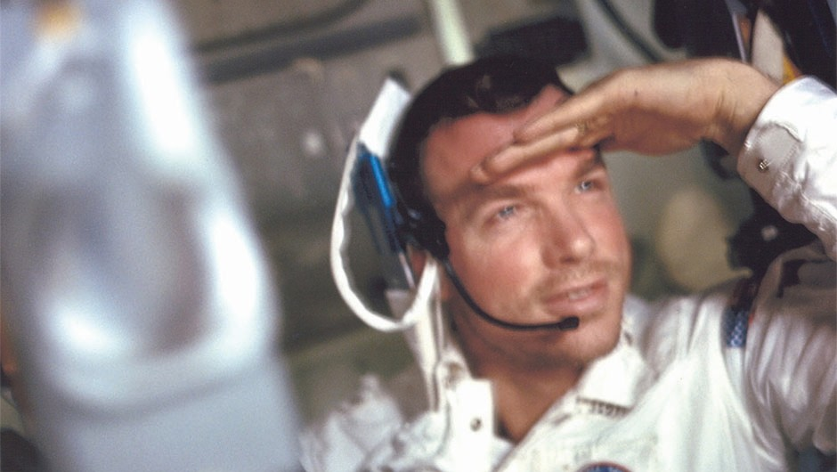 Command Module Pilot David Scott would go on to command the successful Apollo 15 Moon landing.Credit: NASA