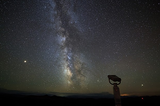 There are hundreds of astronomical bodies that a pair of binoculars will bring into view for you. Image Credit: iStock