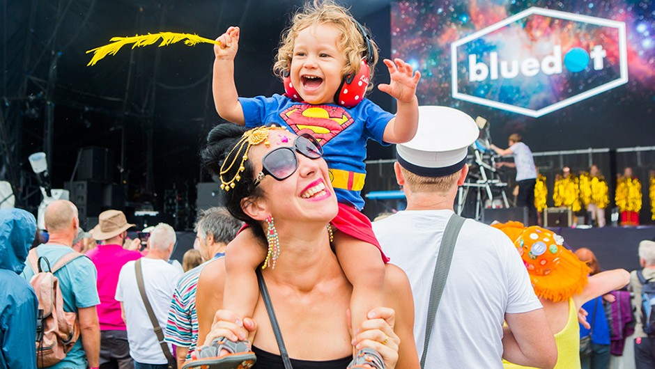 The annual bluedot festival is aimed at seasoned festival-goers, families and anyone with a curious mind. Credit: George Harrison