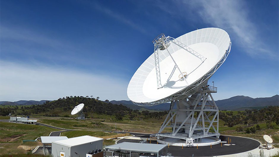 The Deep Space Network consists of three facilities: one near Barstow, California; one near Madrid, Spain; and, pictured above, one near Canberra, Australia. Credit: NASA / JPL-Caltech