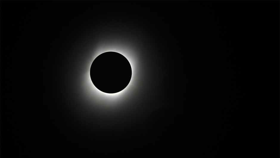 An image of the total solar eclipse that appeared over China in 2009. Unfortunately Stuart and his fellow observers didn't get a view quite as good as this one.Credit: iStock
