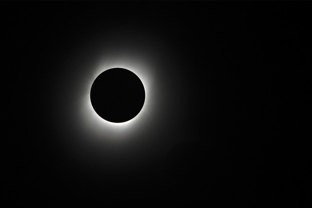 An image of the total solar eclipse that appeared over China in 2009. Credit: iStock