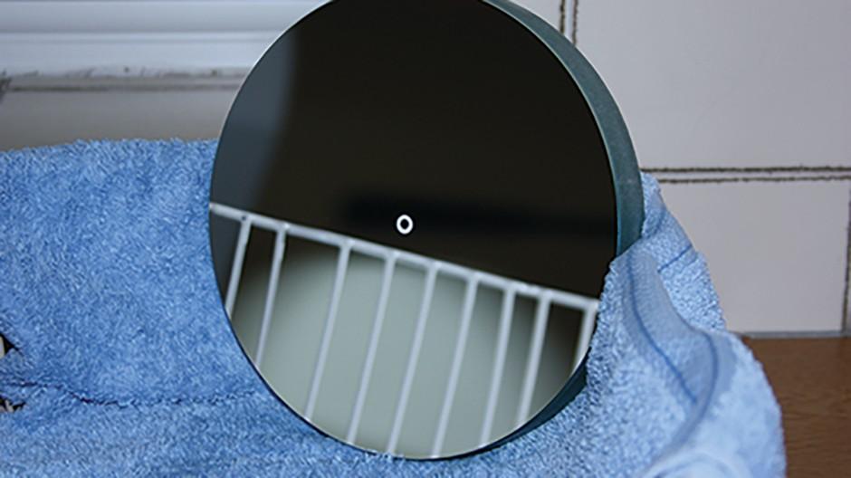 Clean reflector Step 6