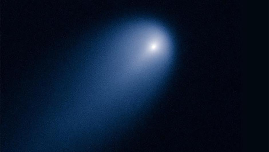 A Hubble Space Telescope image of Comet (C/2012 S1) ISON photographed on 10 April 2013 when the comet was 635 million km from Earth. Credit: NASA/ESA/STScI/AURA