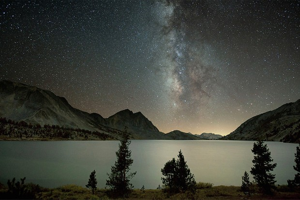 Lange and Foster's image of Duck Lake on the John Muir Trail. Shots like these will be captured along the way as the pair take on one of the world's most famous hikes. (Copyright Dark Sky Photography)