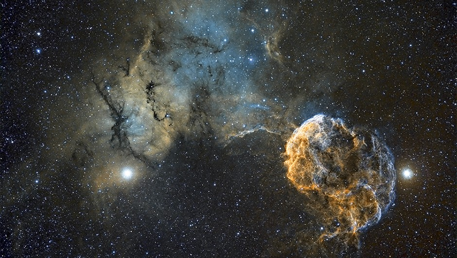 Sh2-249 Jellyfish Nebula © Chris Heapy (Macclesfield, United Kingdom)