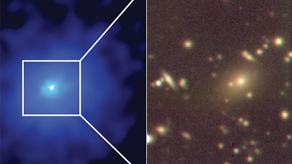 Hidden-galaxy-cluster