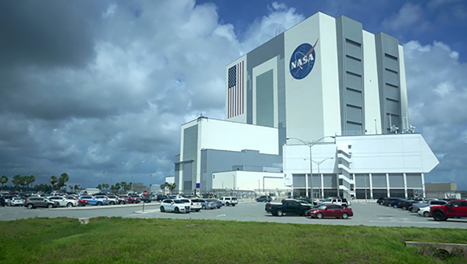 NASA's vast VAB is where its rockets are constructed before being taken to Pad 39A. Credit: Jamie Carter