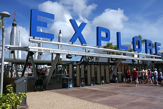 You can see the main sights of the Kennedy Space Center Visitor Complex in one day. Credit: Jamie Carter