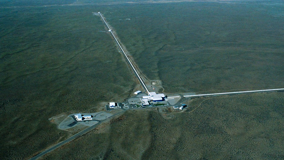 The LIGO Livingstone detector, one of two facilities used to observe gravitational waves Credit: Caltech/MIT/LIGO Laboratory