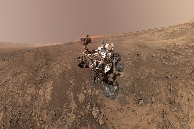 The success of missions like the Curiosity rover perhaps make many of us take for granted humanity's presence on Mars, but nevertheless are helping us understand more about the Red Planet. Image Credit: NASA/JPL-Caltech/MSSS