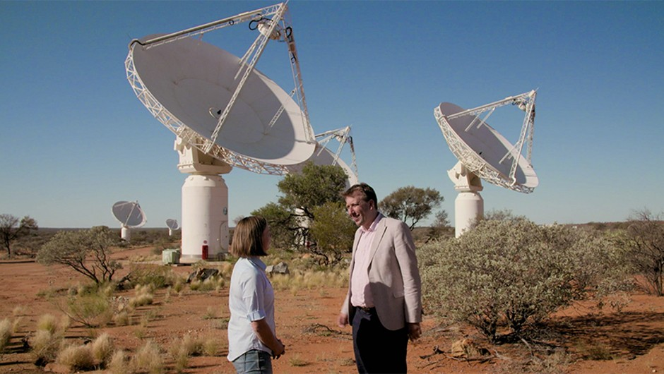 Watch an episode of The Sky at Night in this month's Bonus Content. Chris Lintott travels to the Australian outback, where astronomers have observed the moment starlight first flooded the Universe.