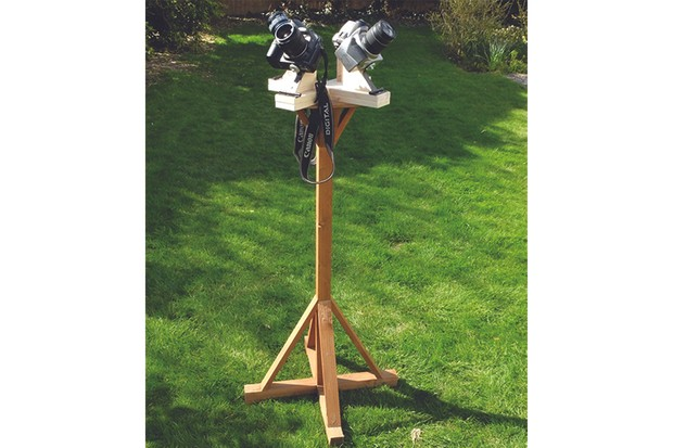 Multi-camera-astronomy-mount