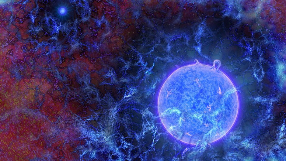 The earliest stars in the Universe have been detected for the first time. A team of astronomers found the imprint of starlight's first glow on the cosmic microwave background radiation.