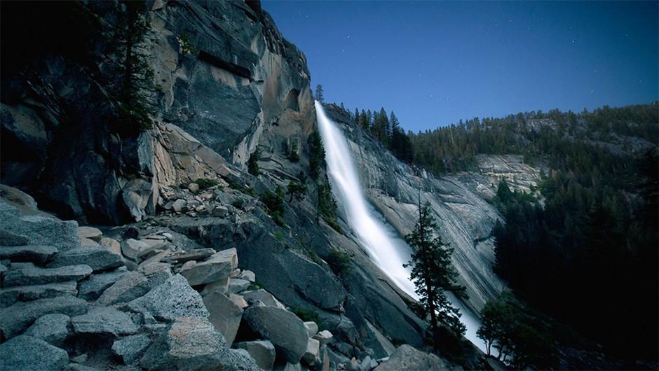 Nevada Fall, Yosemite Valley. (Copyright Dark Sky Photography)