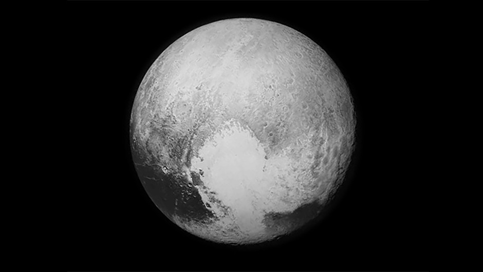 An image of Pluto captured in high-resolution by NASA's New Horizons spacecraft on 14 July 2015. The spacecraft studied the dwarf planet before beginning its journey towards MU69. Credit: NASA/JHUAP/SwRI