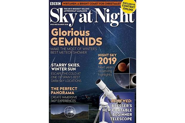 SKY AT NIGHT Dec 2018 cover