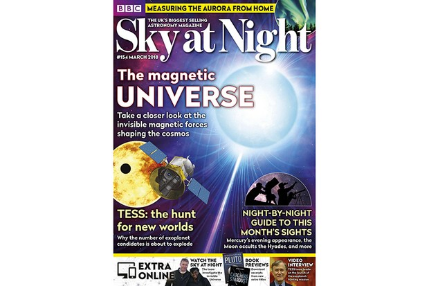 SKY AT NIGHT March 2018