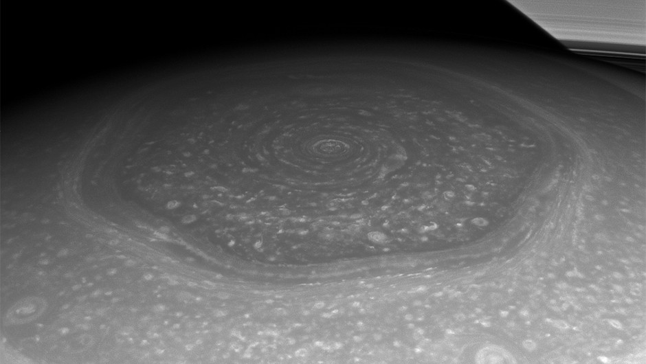 Saturn's north polar hexagon, as seen by the Cassini spacecraftCredit: NASA/JPL-Caltech/Space Science Institute