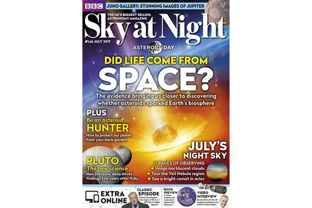 Sky at Night magazine cover July 2017