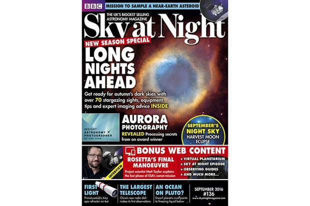 Sky at night Sept 2016