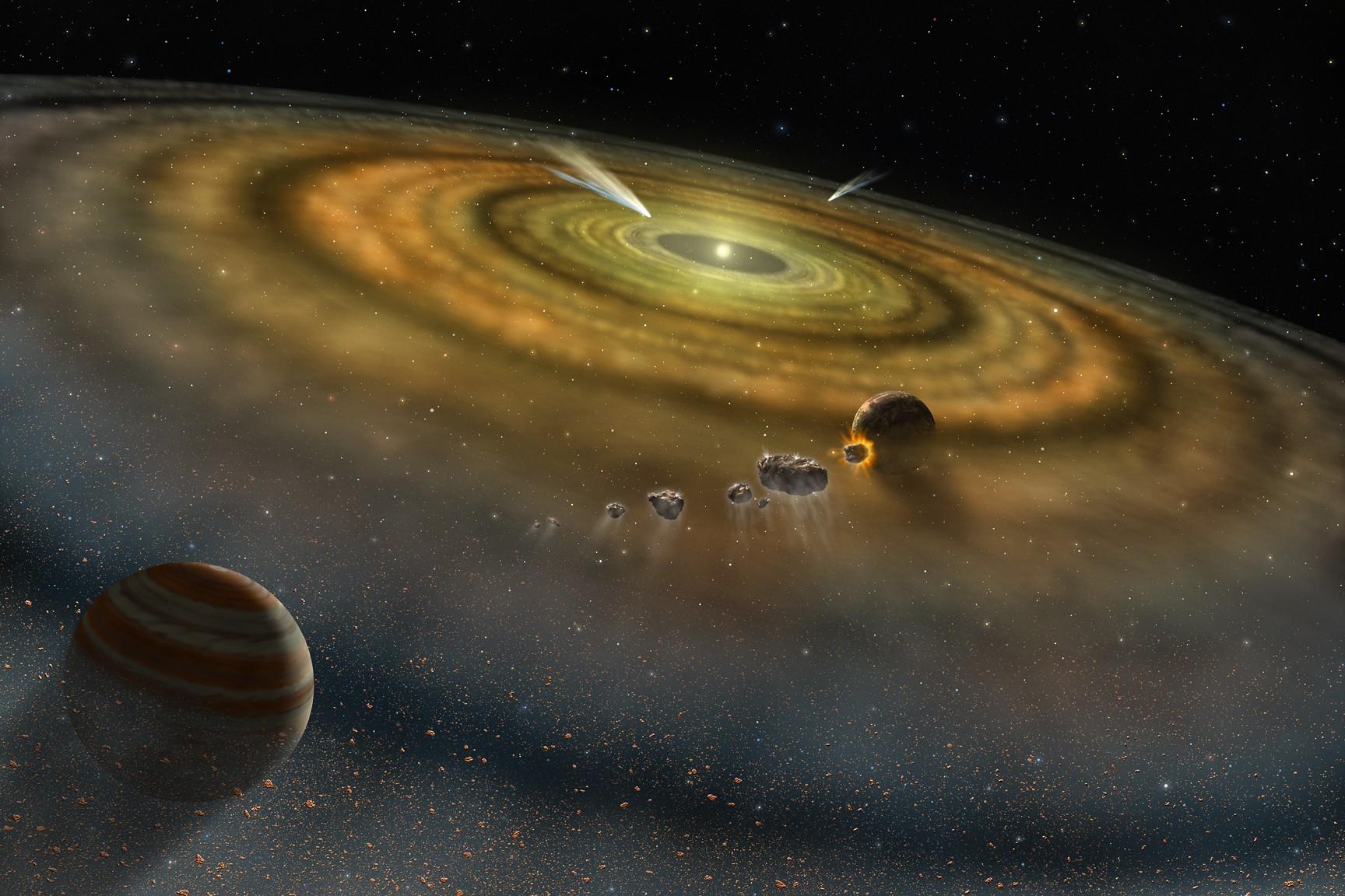 Solar-System-formation
