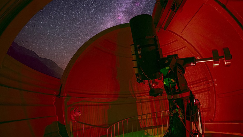 This month Jamie Carter reveals the best places in Spain to view the night skyCredit: Albanya Astronomical Observatory