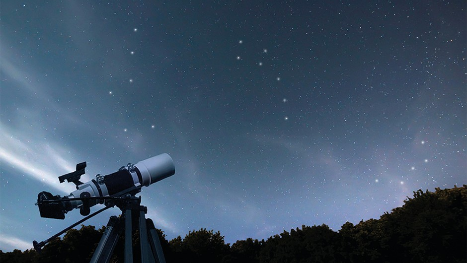 In the northern hemisphere, the entire sky revolves around the Pole Star, PolarisCredit: iStock