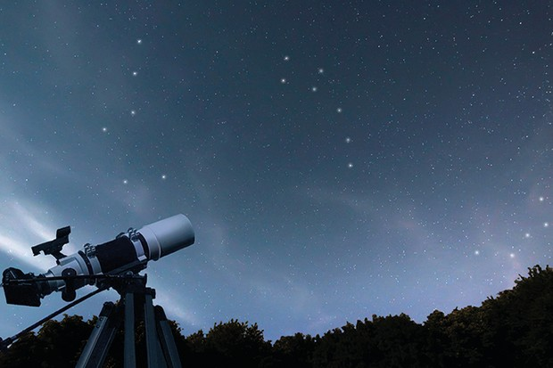 In the northern hemisphere, the entire sky revolves around the Pole Star, Polaris Credit: iStock