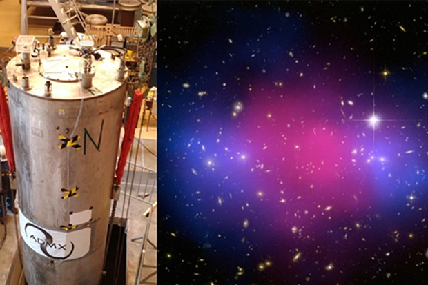 The Axiom Dark Matter Experiment will superconducting magnetic field detectors to amplify the tiny signals of the candidate dark matter particles.