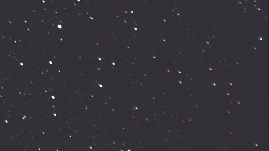 Field curvature can result in stars at the edge of images being blurred, as seen in this cropped corner of a frame.Credit: Steve Richards