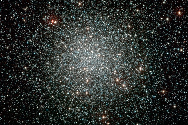 Composite image of the globular cluster NGC 3201, obtained with the WFI instrument on the ESO/MPG 2.2-m telescope at La Silla. Image Credit: ESO