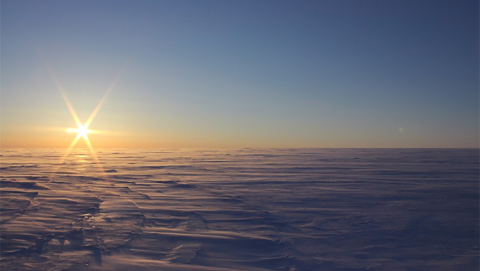 The lakes were found deep under the Canadian High Arctic Credit: Anja Rutishauser