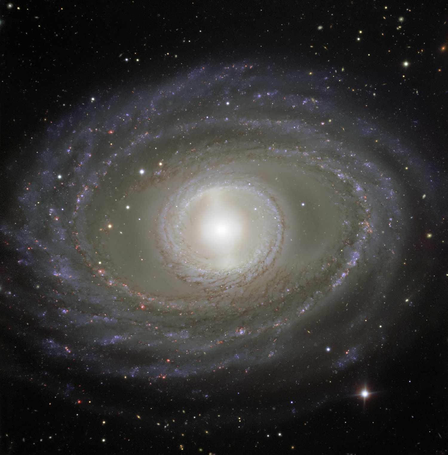 Galaxy NGC 1398, Very Large Telescope, 1 January 2018. Credit: ESO