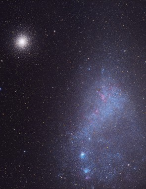 Small Magellanic Cloud & 47 Tucanae Michael Sidoni, Canberra, Australia, 5 November 2017 Equipment: FLI ProLine PL16803 CCD camera, Takahashi FSQ106EDX4 refractor, Starlight Xpress Lodestar Autoguider.