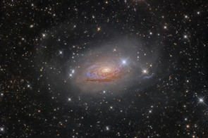 M63: Star Streams and the Sunflower Galaxy, by Oleg Bryzgalov (Ukraine)    Rozhen Observatory, Smolyan Province, Bulgaria, 6 April 2016    Equipment: QSI 583wsg CCD camera, 10-inch homemade reflector, White Swan 180 mount.