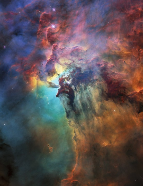 The Lagoon Nebula, Hubble Space Telescope, 19 April 2018. Credit: NASA, ESA, STScI