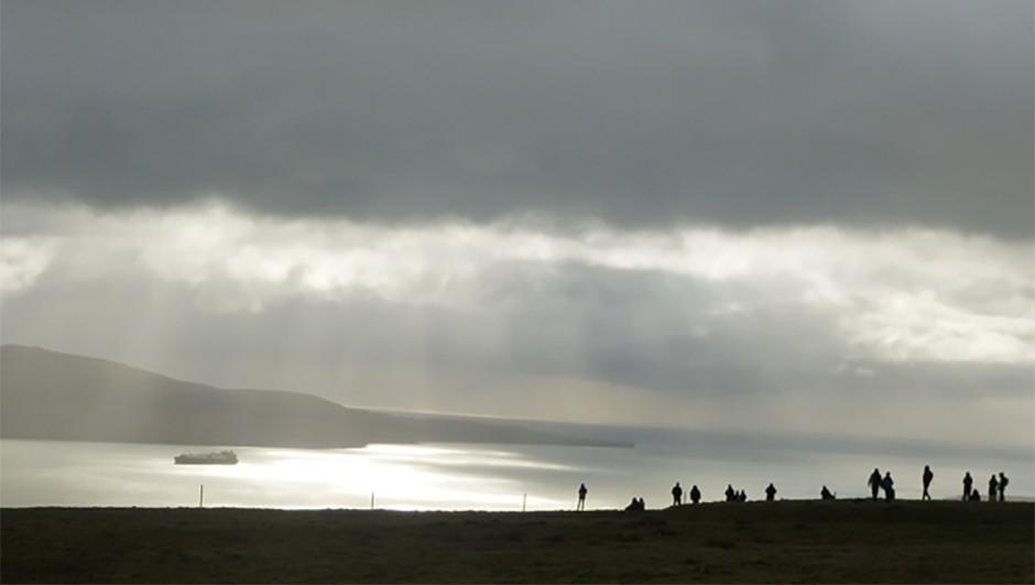 04 Stubborn clouds marred Torshavn's view (c) Jamie Carter