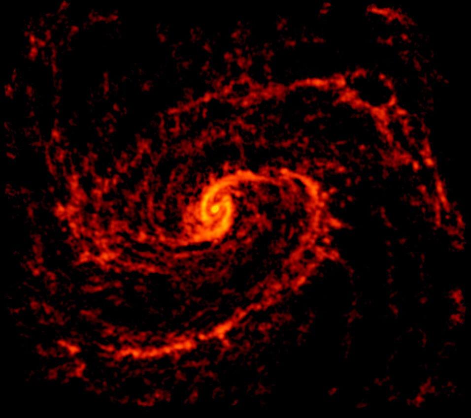 ALMA radio image of NGC 4321