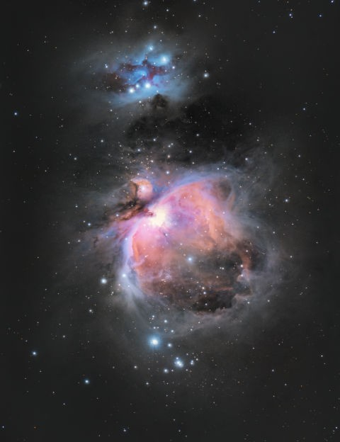 The Orion Nebula  Christopher Garman, Skelmersdale, 17 November 2018  Equipment: Nikon D750 DSLR camera, Explore Scientific ED102 triplet apo refractor, Sky-Watcher HEQ5 Pro SynScan mount.