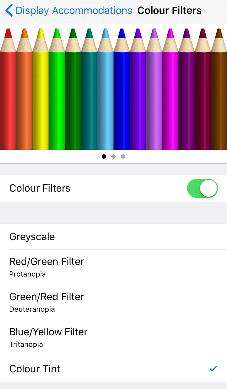 06 - How to turn your iPhone screen red