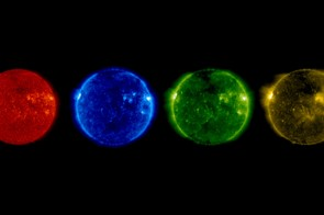 Wavelengths of the Sun, NASA Solar & Heliospheric Observatory, 21 June 2017 (Credit: SOHO (ESA & NASA))