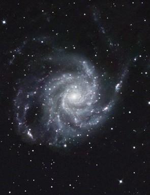 Pinwheel Galaxy, Mark Griffith, Wiltshire, 20 January 2017. Equipment: Atik 383L+ CCD camera, Teleskop Service 12-inch Ritchey-Chrétien telescope, Sky-Watcher EQ8 Pro equatorial mount.