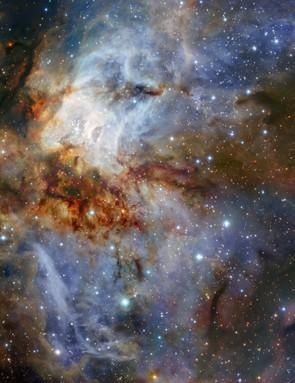 Star cluster RCW 38, Very Large Telescope, 11 July 2018. Credit: ESO/K. Muzic