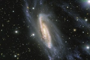 Galaxy NGC 3981, Very Large Telescope, 12 September 2017. Credit: ESO