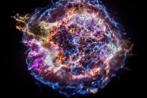 Supernova Cassiopeia A, Chandra X-ray Observatory, 12 December 2017 (Credit: NASA/CXC/SAO)